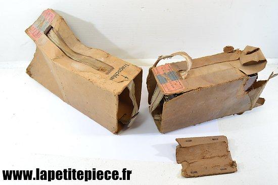 Boite carton pour boites de cartouches Allemandes Deuxième Guerre Mondiale