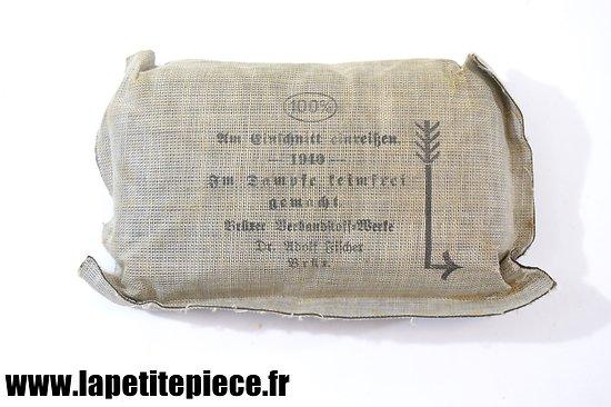 Pansement individuel Allemand 1940