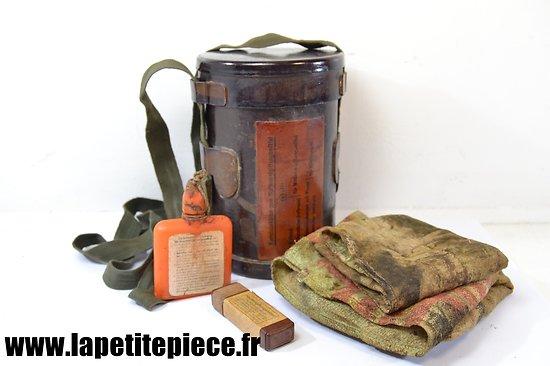 Boitier kit de décontamination pour armes Allemand Deuxième Guerre Mondiale WW2