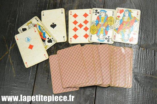 Jeu de cartes années 1930 - 1950