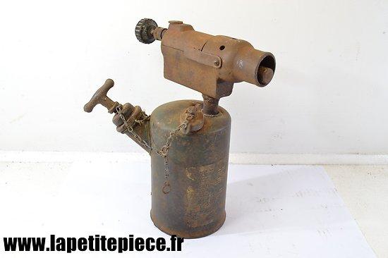 Lampe de chauffe pour véhicules Allemand Deuxième Guerre Mondiale.