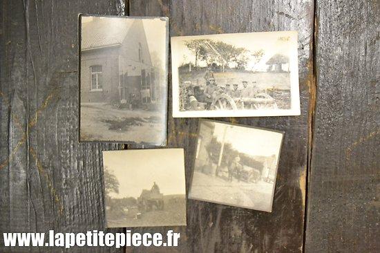 Lot photos soldats Allemand Première Guerre Mondiale
