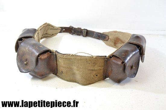 Colliers à cartouches modèle 1929 modifié. France WW2 cavalerie
