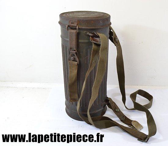 Boitier de masque à gaz Allemand 1939