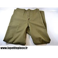 Pantalon US Trousers Wool Serge OD Light shade M-1937 1941