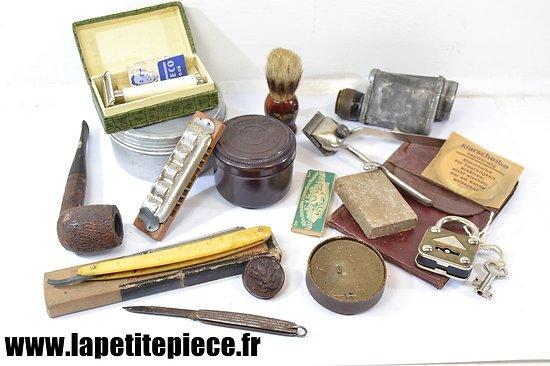 Lot d'effets personnels Allemand époque Deuxième Guerre Mondiale