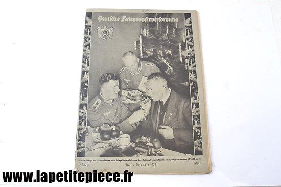 Livre patriotique Allemand 1938 - Deutsche Kriegsopferversorgung