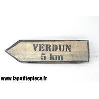 Repro panneau VERDUN