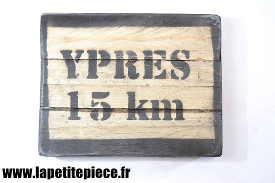 Repro panneau YPRES