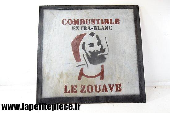 Repro panneau LE ZOUAVE (papier à cigarettes)
