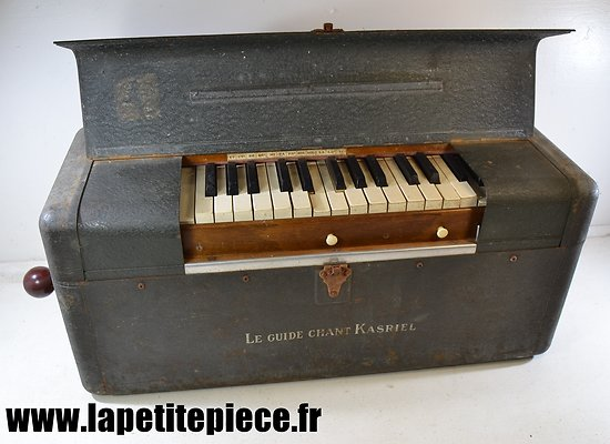 Guide Chant Kasriel années 1930. Orgue