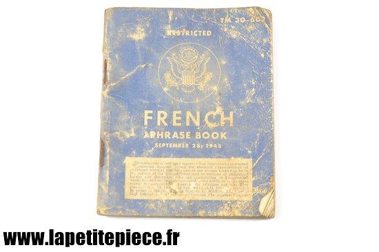 French Phrase Book September 28, 1943 TM 30-602