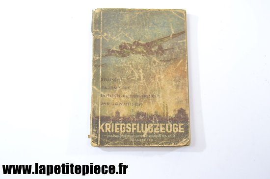 Livre Allemand aviation - Kriegsflugzeuge 1943