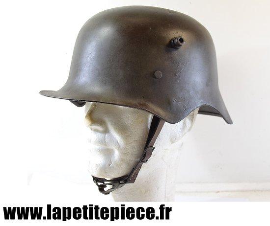 Repro casque Allemand 1918 à échancrures