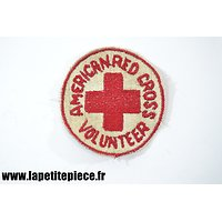 Repro patch AMERICAN RED CROSS VOLUNTEER