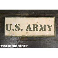 Repro panneau US ARMY