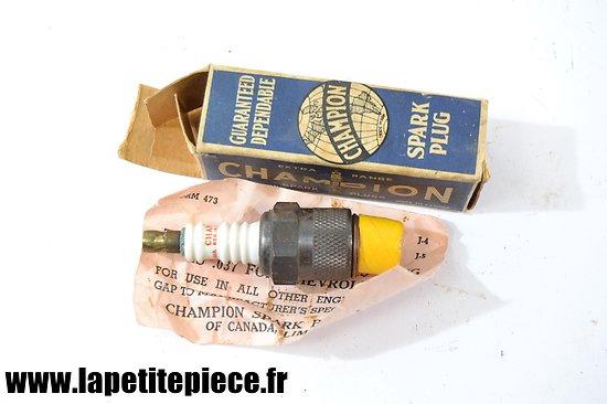 Bougie Champion Spark Plug années 1930 - 1950. Canada