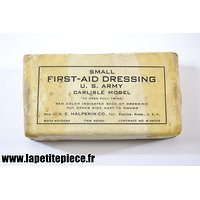 Pansement paraffiné SMALL FIRST-AID DRESSING Halperin Co. Boston