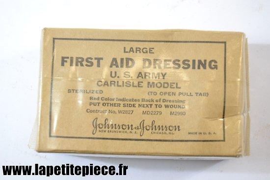Pansement US First-aid dressing large Carlisle model - Johnson & Johnson