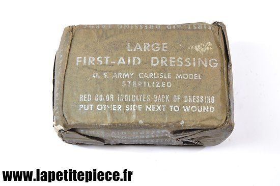Pansement américain Large First Aid Dressing
