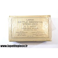 Large Battle dressing US ARMY 1943 Handy Pad Supply Co.