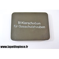 Boite Allemande 10 Klarscheiben für Gasschutzhauben