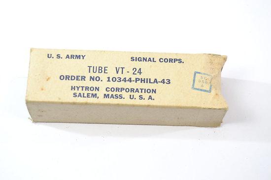 Lampe radio US VT-24 - 1943 - Hytron Corp.