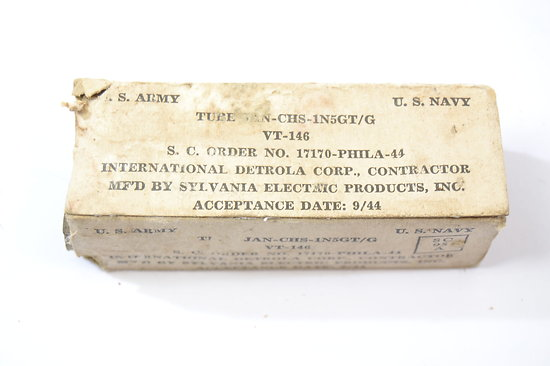 Lampe radio US VT-146 - 1944 - Sylvania Electric Products Inc.