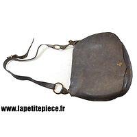 Sacoche en cuir Armée Française, Génie porteur d'outils. Première Guerre Mondiale