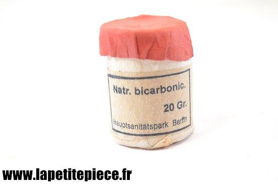 Natr. bicarbonic 20gr. Allemand WW2