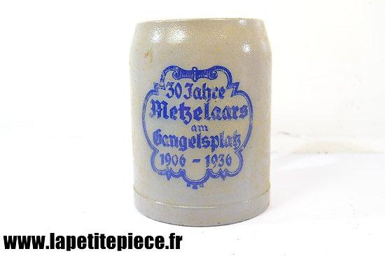 Chope à bière de 1936 Metzelaars am Hangelsplatz