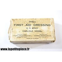 Small first aid dressing Carlisle model - paraffiné
