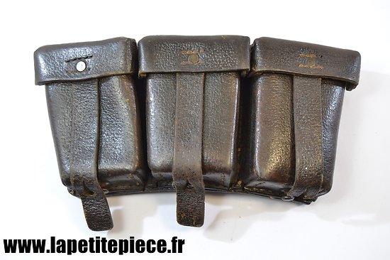 Cartouchière Allemande Patronentaschen modèle 1933