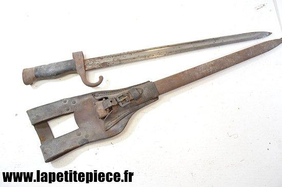 Baionnette 1892 Berthier mousqueton Première Guerre Mondiale
