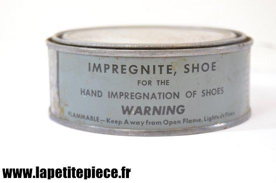 Impregnite Shoe M1 - Graisse anti-gaz vésicants - boite bleue