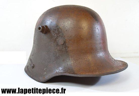 Casque allemand camouflé modèle 1916