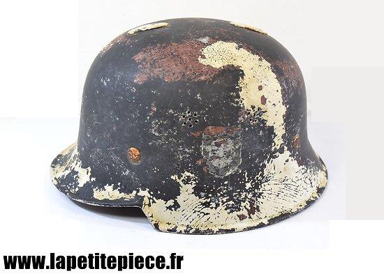 Casque Allemand modèle 1934 - pompiers - police ou D.R.K.