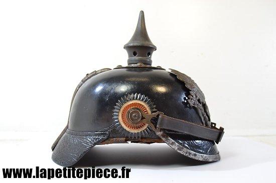 Casque Prussien modèle 1895 modifié 1915.
