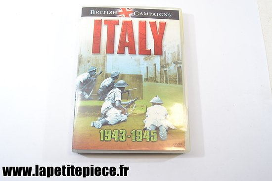 ITALY british campaigns 1943 - 1945