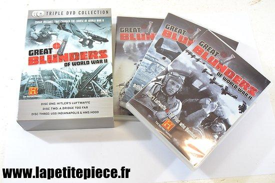Great blunders of world war II - 3 DVD