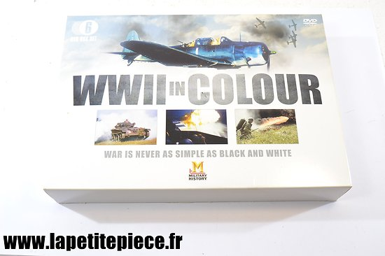 WWII in colour - war is never as simple as black and withe 6 dvfd box set