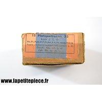 Boite  de 15 Platzpatronen 33 (gpe 1941)