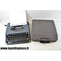 Machine à écrire portative années 1930 - 1950. Hermes Baby