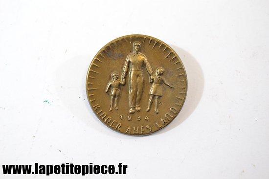 Insigne de journée Allemand Kinder Aufs Land 1934
