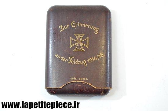 Boite à cigares Allemande souvenir 1914 - 1915