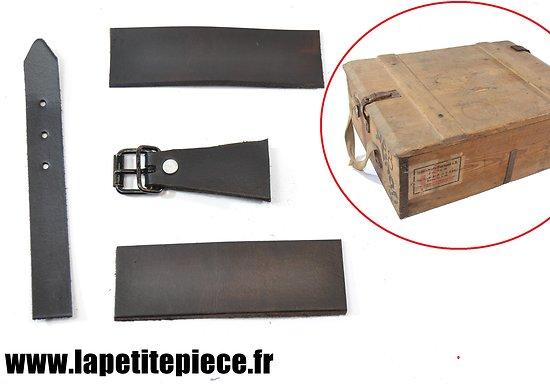 Kit réparation cuir pour Patronenkasten 88