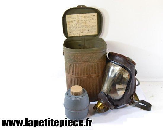 Masque à gaz civil - GEP 1939 - Société Gaz Et Protection Paris