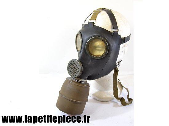Masque à gaz Français modèle 1938 C38 caoutchouc