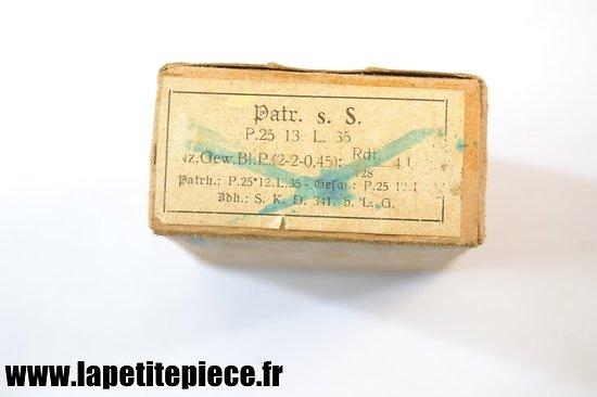 Boite de 15 patronen 1935