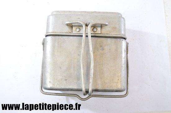 Gamelle modèle 1935 / marmite individuelle. France WW2  LANTZ 1936